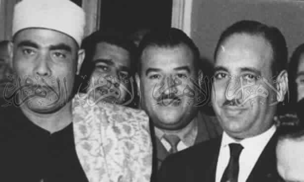 محمود خليل الحصرى فى العراق