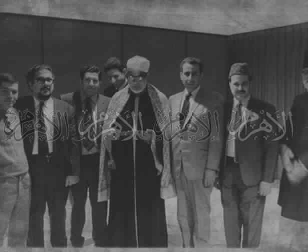 محمود خليل الحصرى فى 'حدى المقابلات